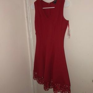 Elegant red dress!